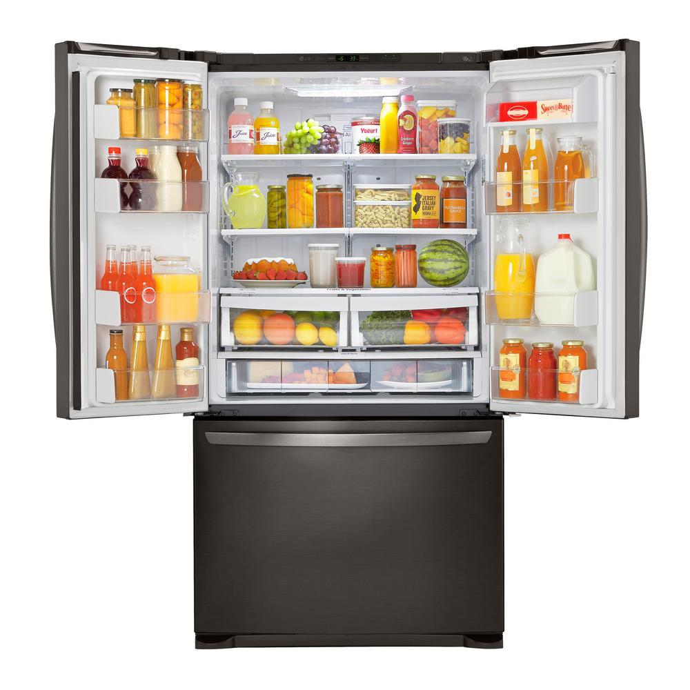 +9. LG Electronics 25.4 Cu. Ft. 3 Door French Door Refrigerator ...