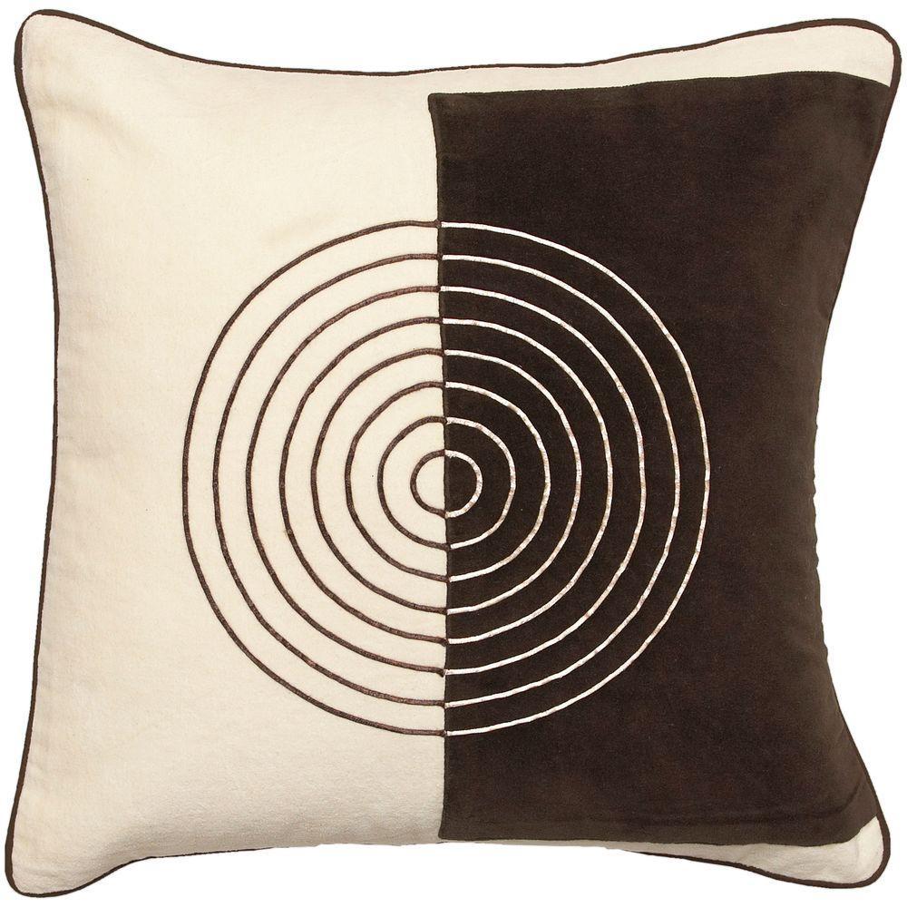 Artistic Weavers CirclesG 18 in. x 18 in. Decorative Pillow