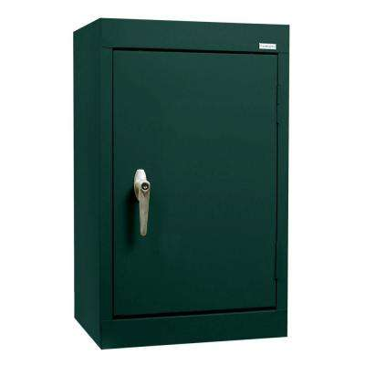 26 in. H x 18 in. W x 12 in. D Wall Cabinet in Forest Green