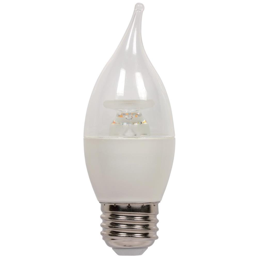 Westinghouse 60-Watt Equivalent C13 Dimmable LED Light Bulb in Soft ...