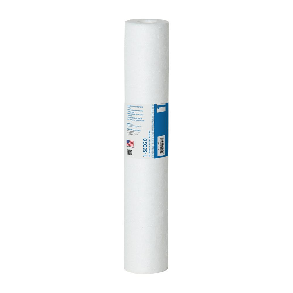 Commercial Grade 20 in. x 2.5 in., 5 Micron High Capacity