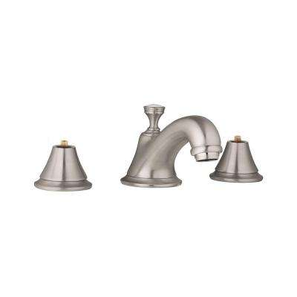 Seabury 8 in. Widespread 2-Handle 1.2 GPM Bathroom Faucet in Brushed Nickel InfinityFinish