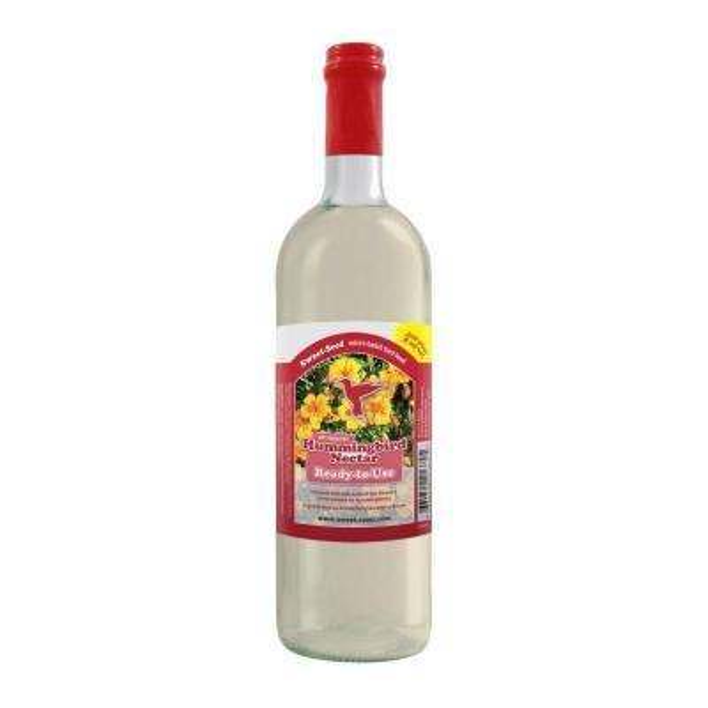 750 ml Sweet-Nectar Premium Ready-to-Use Hummingbird Nectar/Food