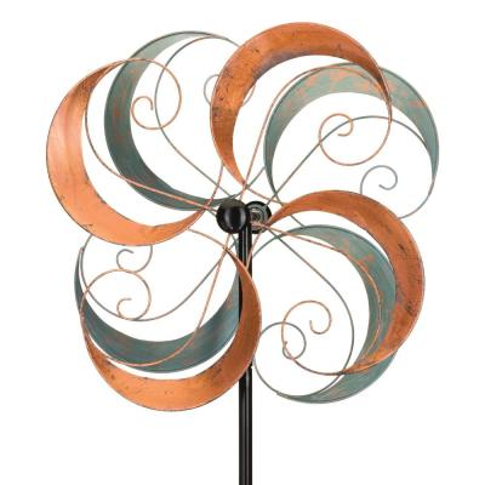 26 in. Rotating Wind Spinner Swirls