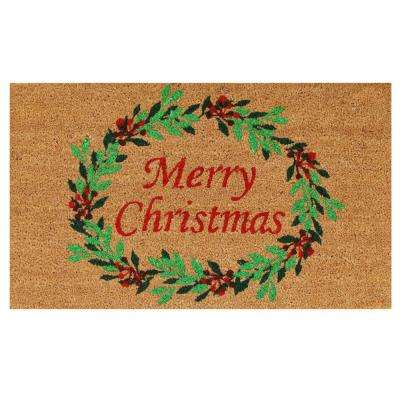 Christmas rugs doormats indoor christmas decorations for Home depot indoor christmas decorations