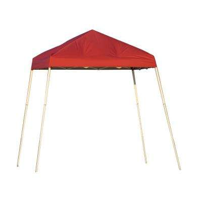 Red Slant Leg Pop-Up Canopy  sc 1 st  Home Depot & Red - Pop-Up Tents - Tailgating - The Home Depot