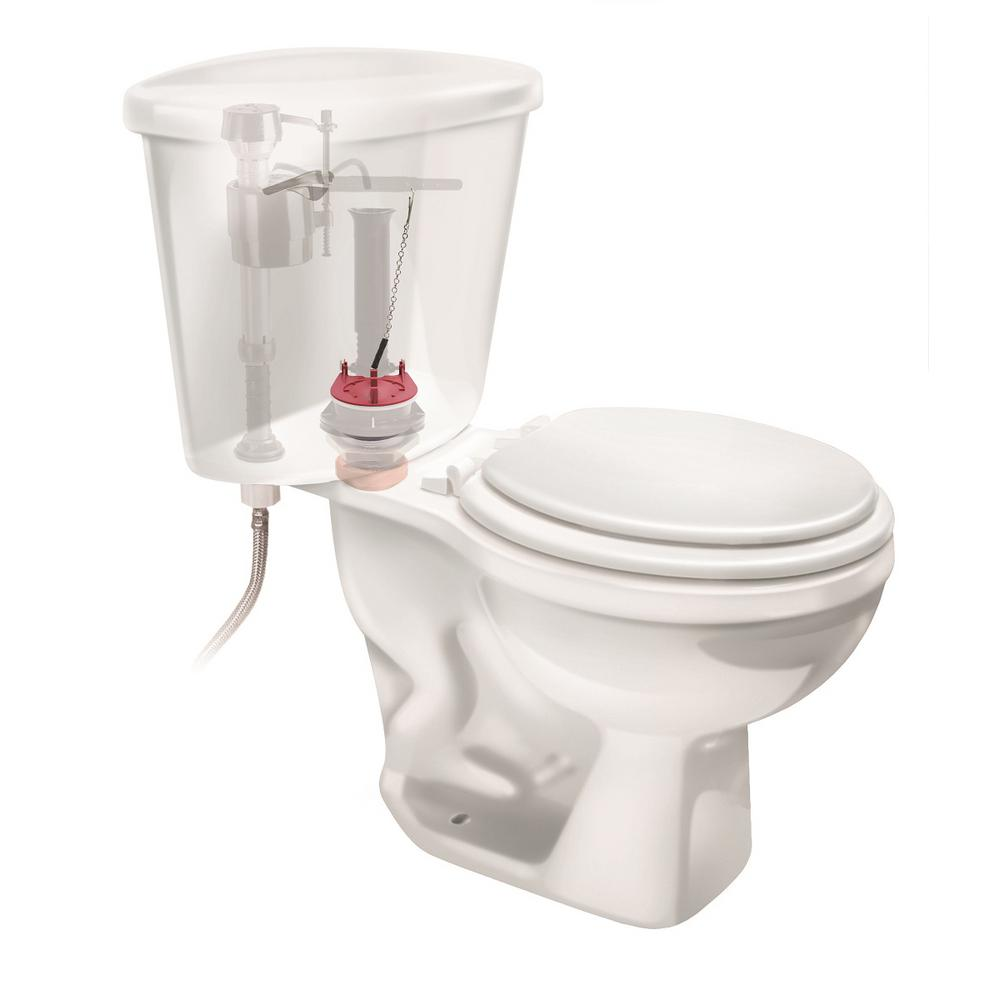 Flapper Toilet 3in Glacier Bay