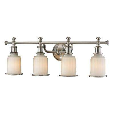 Kildare 4-Light Brushed Nickel Bath Light