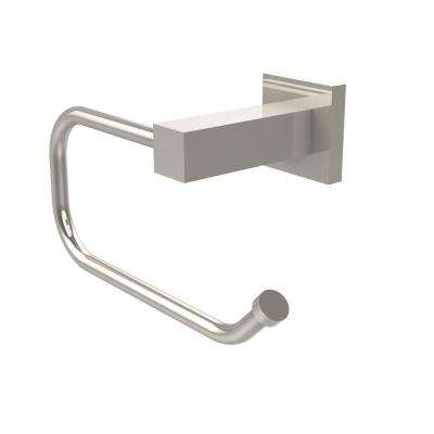Montero Collection Euro Style Single Post Toilet Paper Holder in Polished Nickel