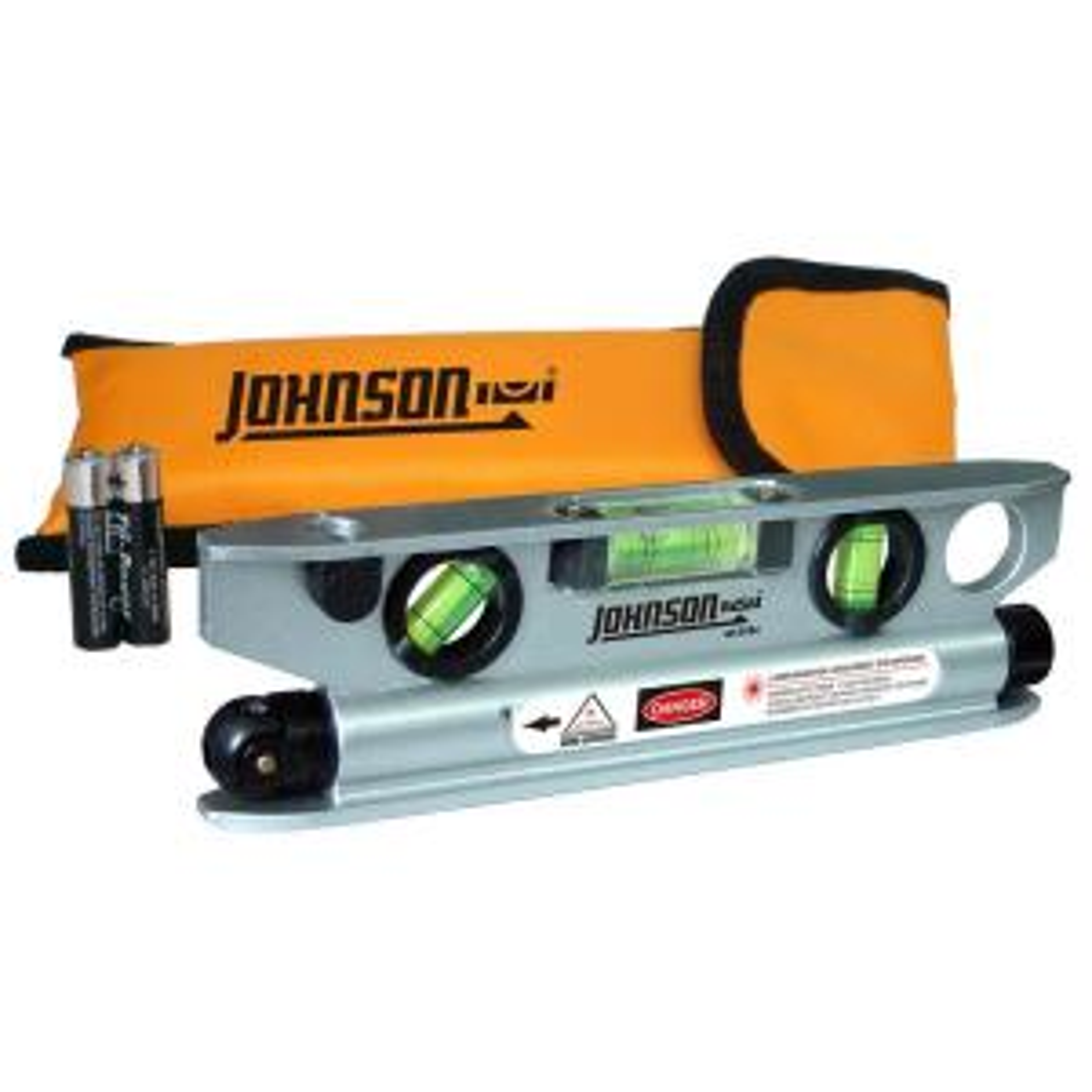 Johnson Magnetic Torpedo Laser Level by Johnson