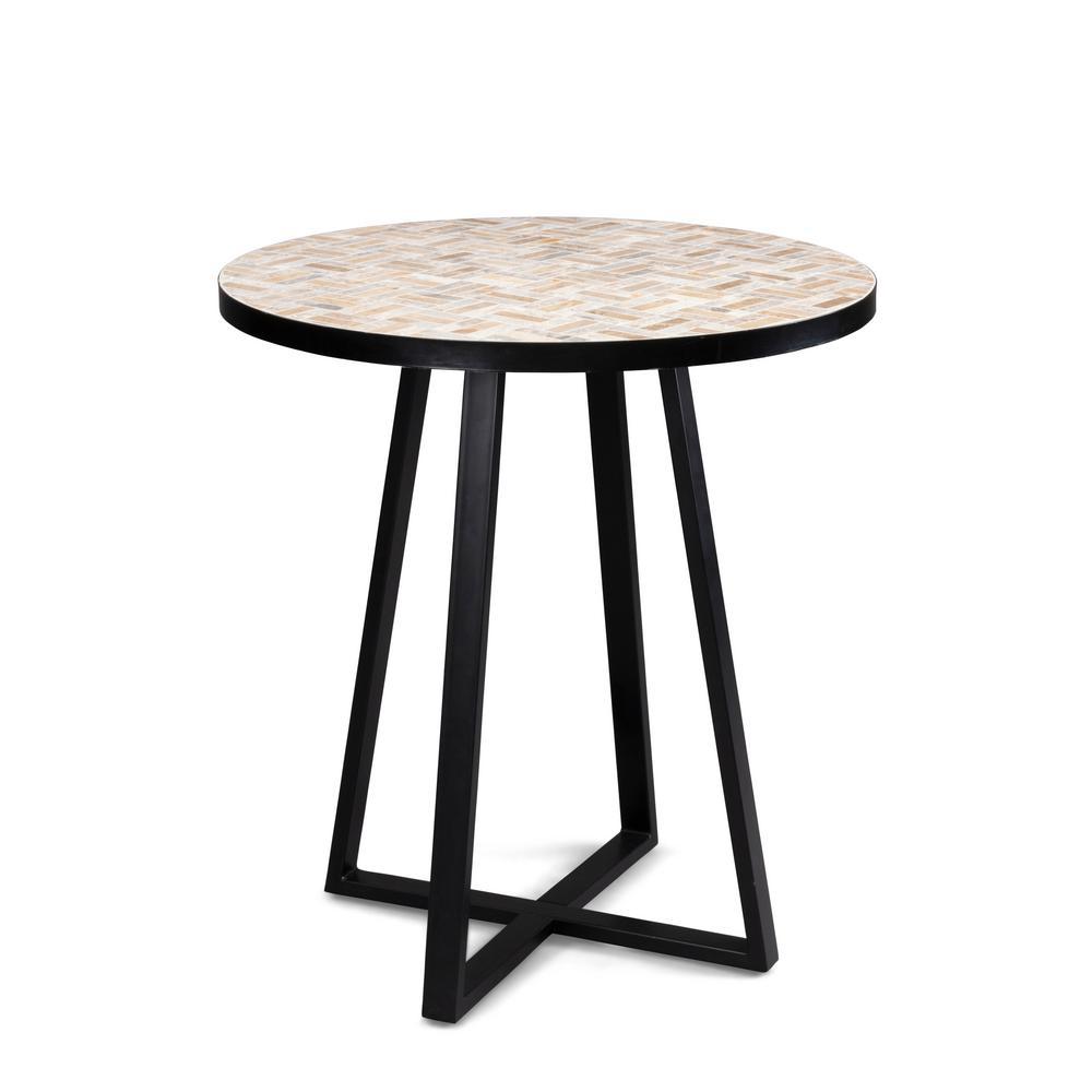 Panama Brown Metal Outdoor Bistro Table