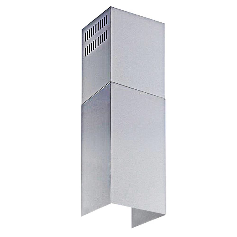 Stainless Steel Chimney Extension (up to 11 ft. Ceiling) for Wall Mount Range Hood