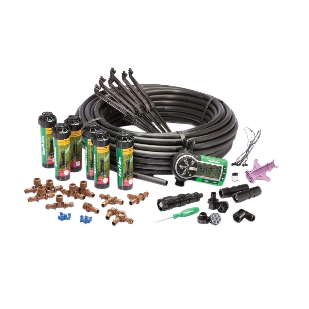 rain bird easy to install in ground automatic sprinkler system 32eti
