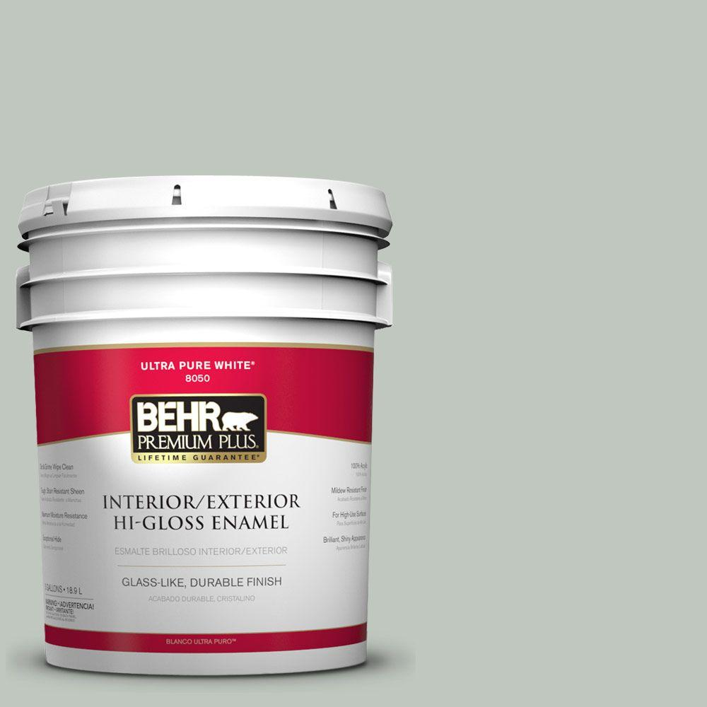 behr premium plus 5 gal 700e 3 contemplation hi gloss what kind of flooring is best for small bathrooms