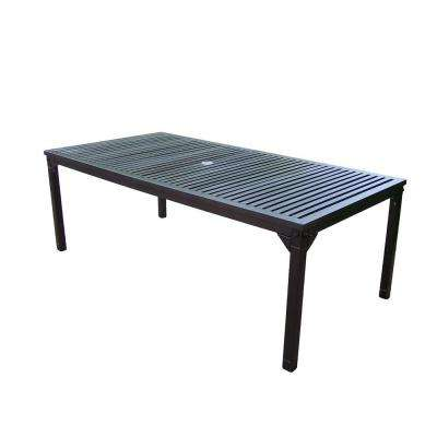 Rochester 80 in. x 40 in. Patio Dining Table