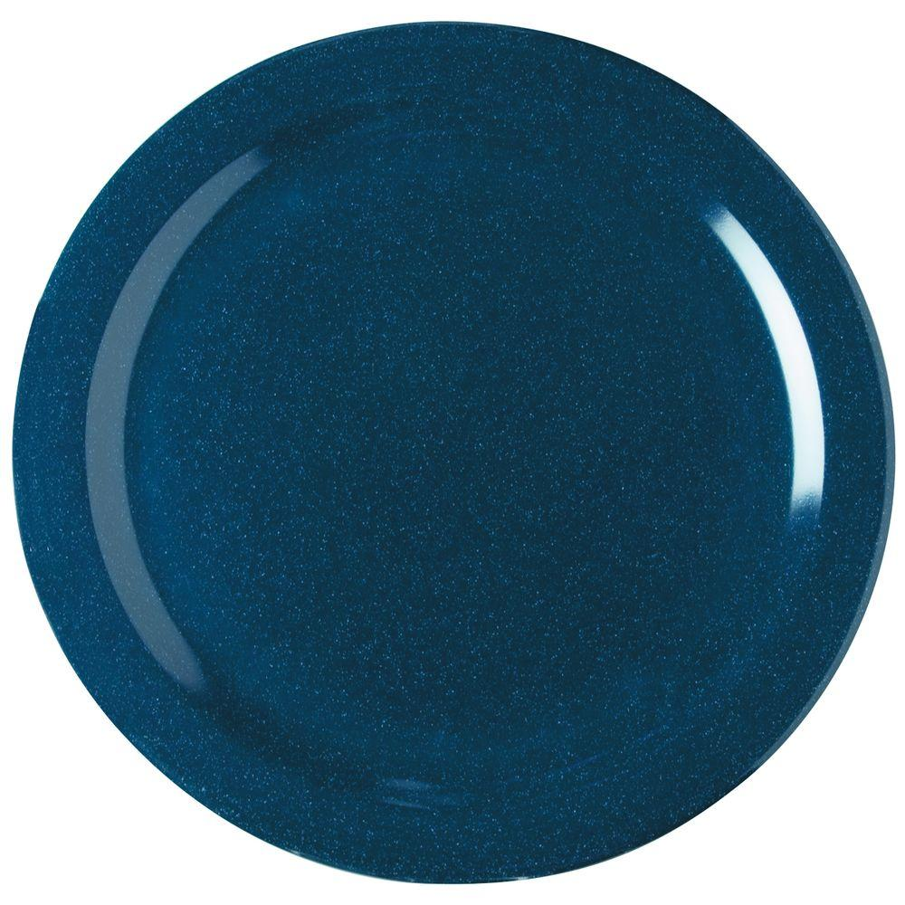 Carlisle 10.25 in. Diameter Melamine Dinner Plate in Cafe Blue (Case of 48)