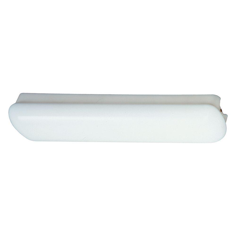 thomas lighting indoor fluorescent 2-light white bath