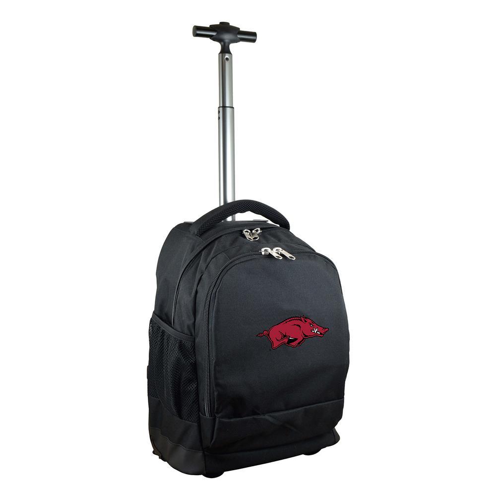 Mojo Ncaa Montana 19 In Black Wheeled Premium Backpack Clmgl780 Bk The Home Depot