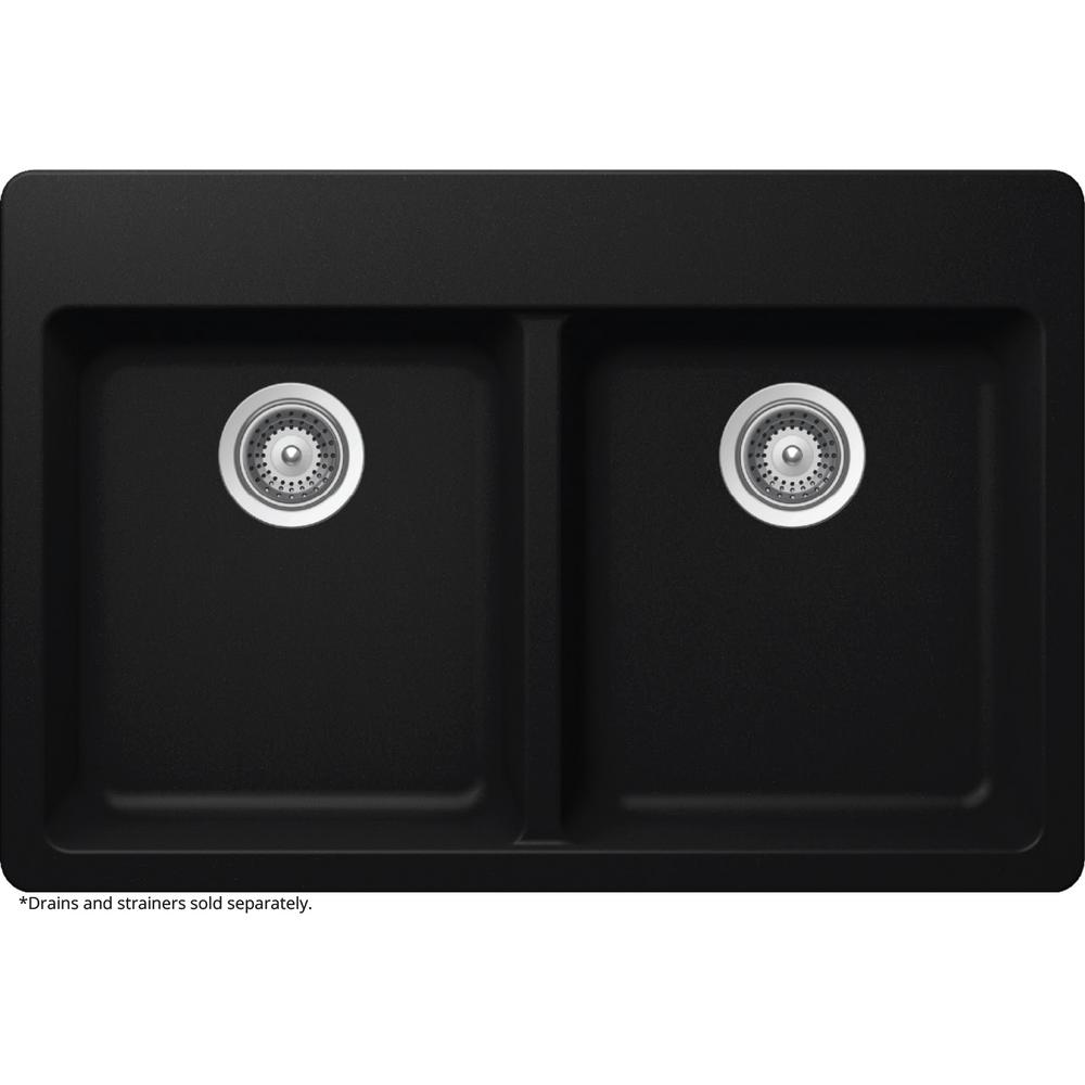 composite kitchen sinks elkay elkay by schock dual mount quartz composite 33 in 2415