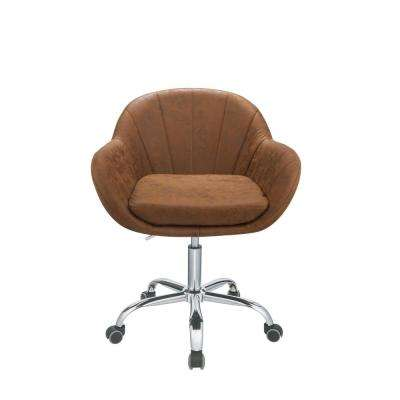 Giolla Brown Office Chair