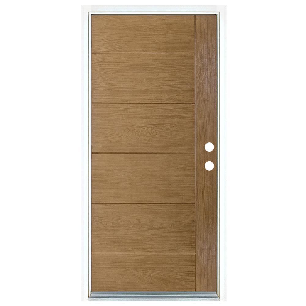 Light Oak Front Doors Exterior Doors The Home Depot