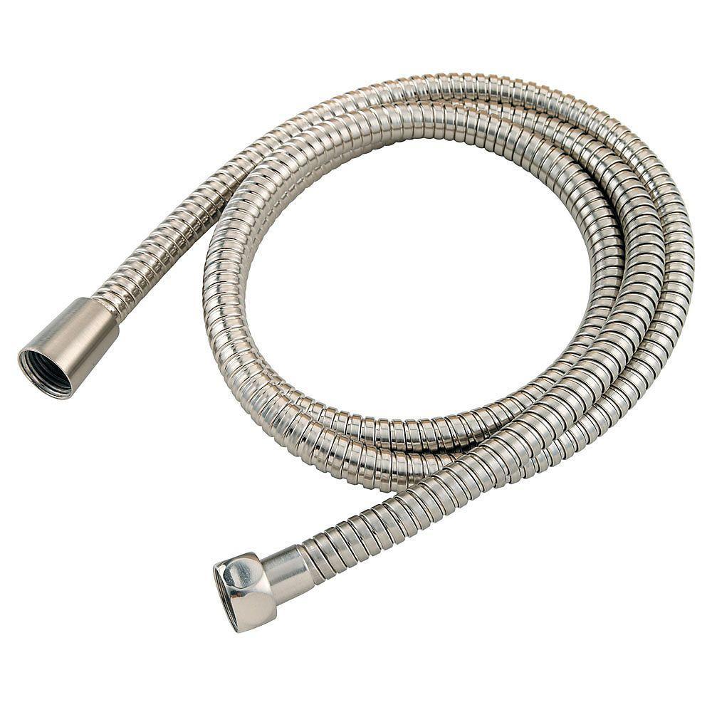 16-Series Anti-Twist Shower Hose in Brushed Nickel