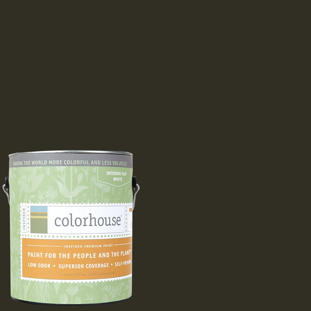 1 gal. Wood .06 Flat Interior Paint