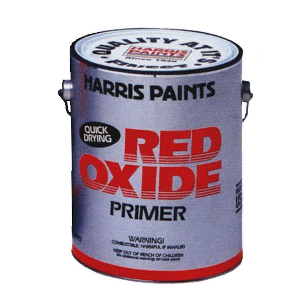 Harris 1 gal  Oil-Based Red Oxide Primer