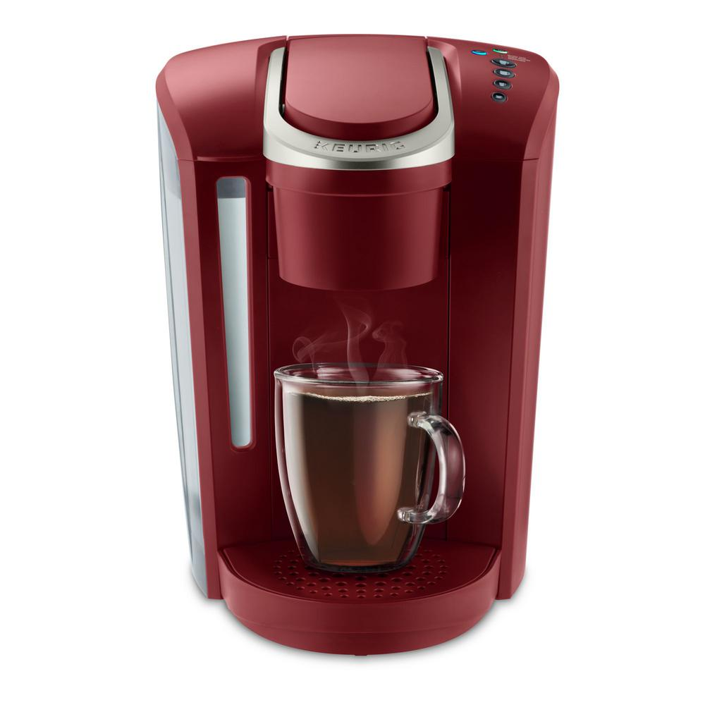 K-Select Single Serve Brewer in Vintage Red