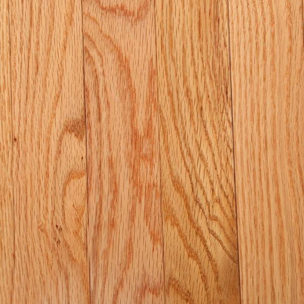 Bruce Laurel Natural Oak 3 4 In Thick X 2 1 4 In Wide X Varying Length Solid Hardwood Flooring 20 Sq Ft Case Cb921 The Home Depot
