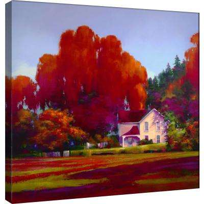 15.in x 15.in ''Back Porch'' Printed Canvas Wall Art