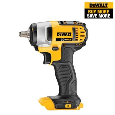 20-Volt MAX Lithium-Ion Cordless 3/8 in. Impact Wrench with Hog Ring (Tool-Only)