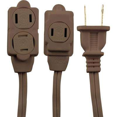 6 ft. 2-Wire 16-Gauge Polarized Indoor Extension Cord
