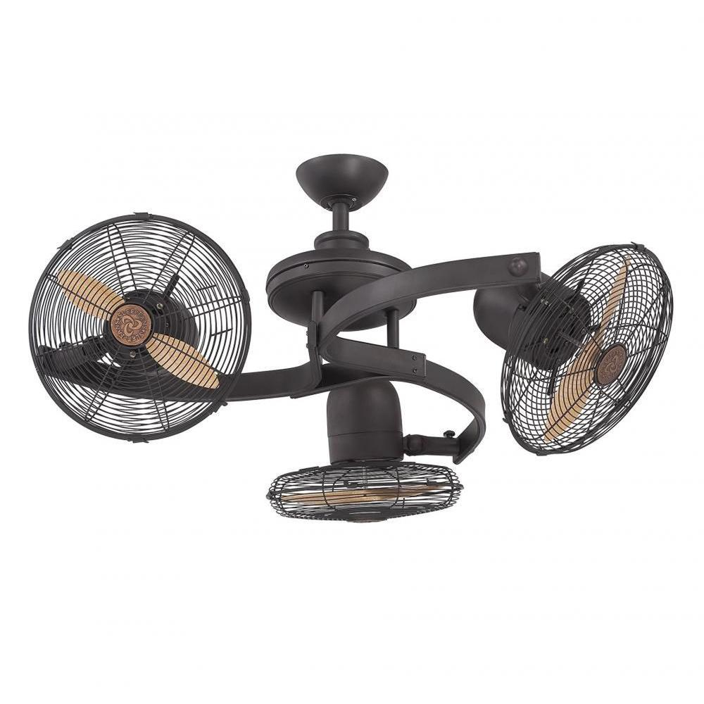light retro size head vintage fan kids for full of bedroom double luxury twin with fans dual ceiling blade ii