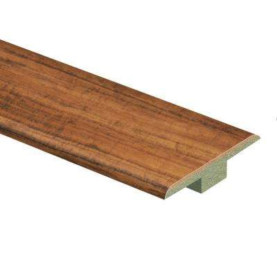 Hawaiian Curly Koa 7/16 in. Thick x 1-3/4 in. Wide x 72 in. Length Laminate T-Molding