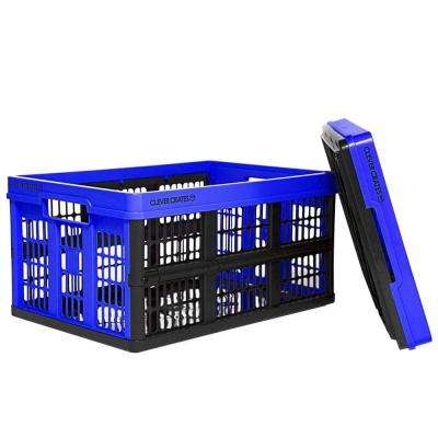 47.5 qt. Collapsible Storage Box in Royal Blue