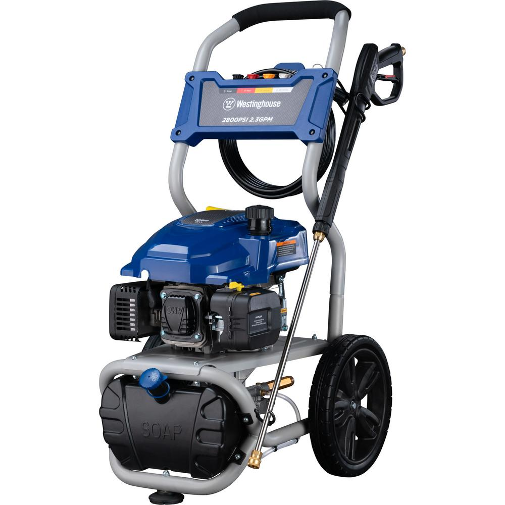 Westinghouse 2800 PSI 2 3 GPM 173 cc Gas Pressure Washer