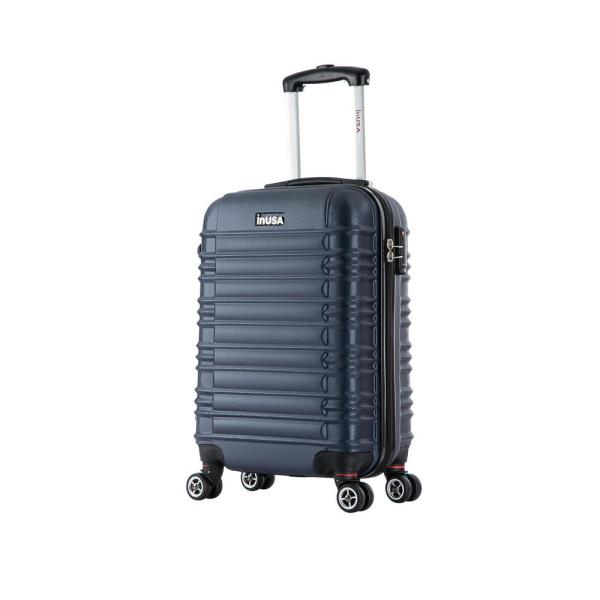 071079c4a InUSA New York lightweight hardside spinner 20 in. carry-on -Navy Blue