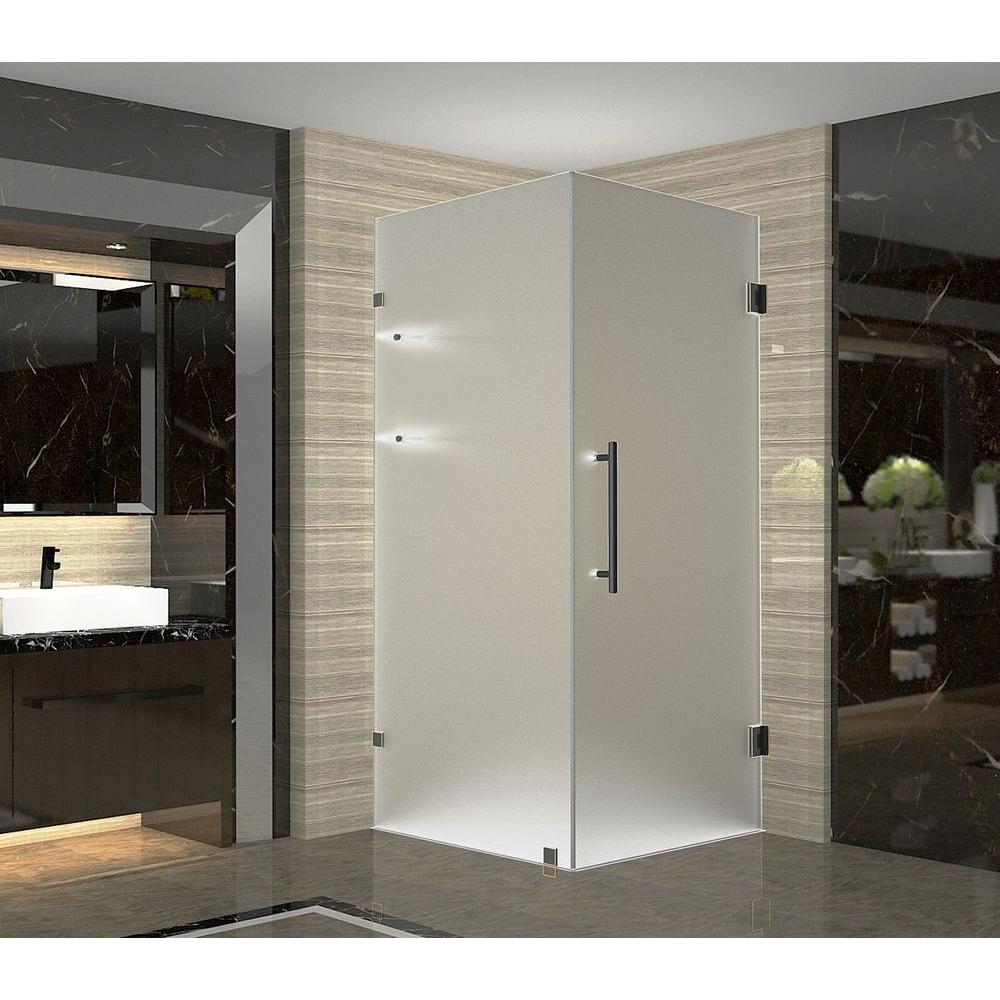 Aston Aquadica GS 36 in. x 36 in. x 72 in. Frameless Square Shower ...