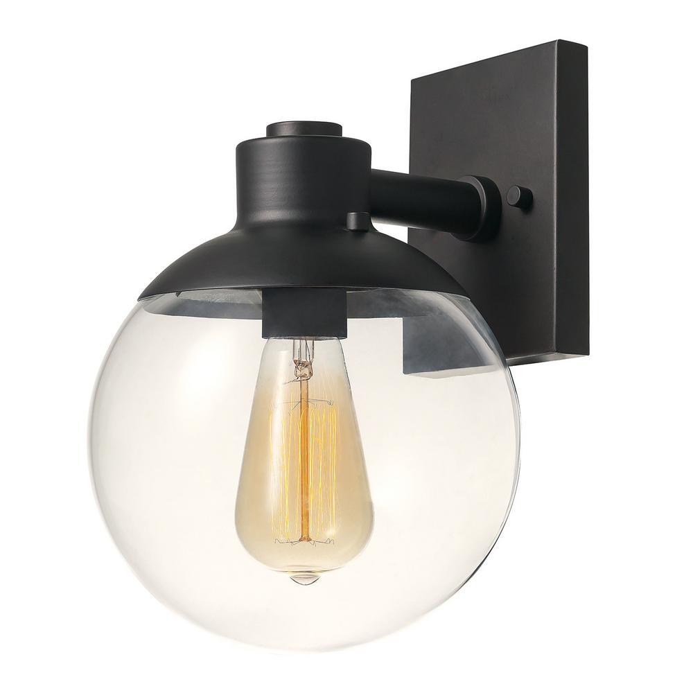 Globe Electric Portland 1-Light Dark Bronze Sconce by Globe Electric