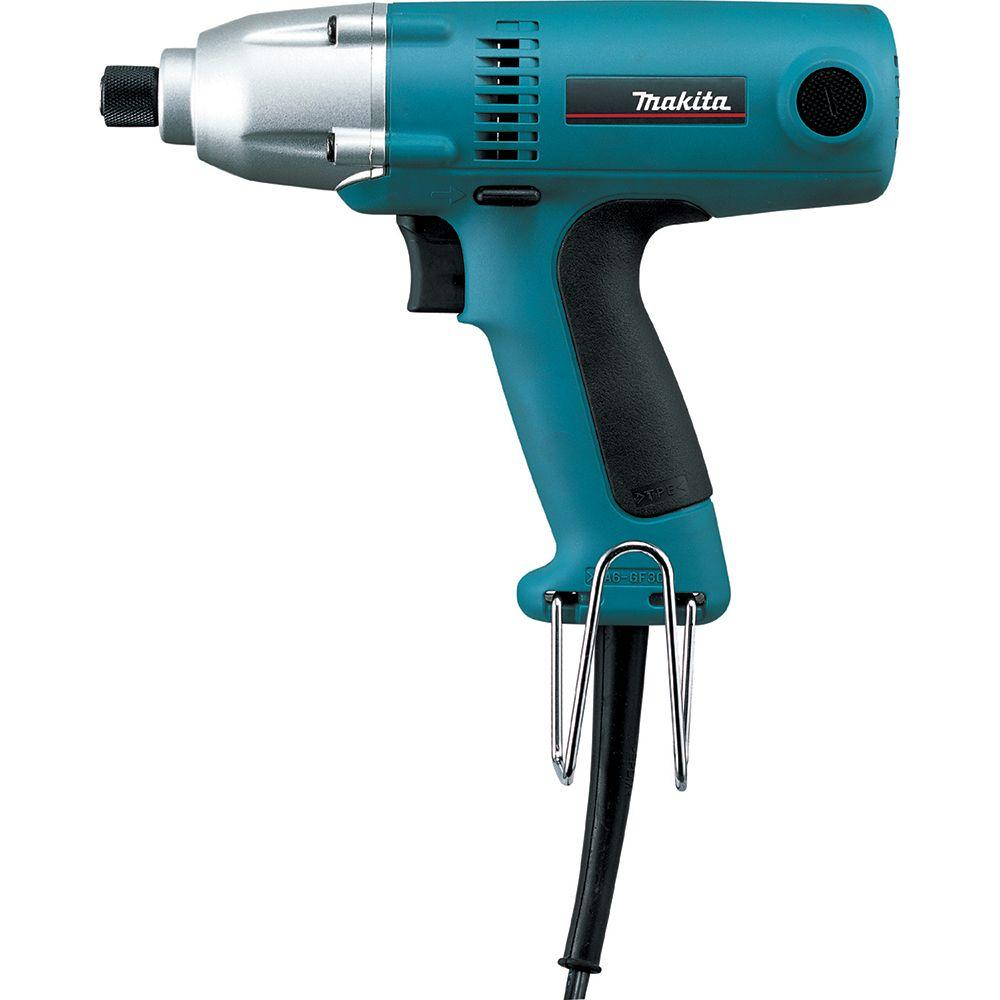 Makita 2 3 Amp 1/4 in  Corded Hex Drive Impact Driver