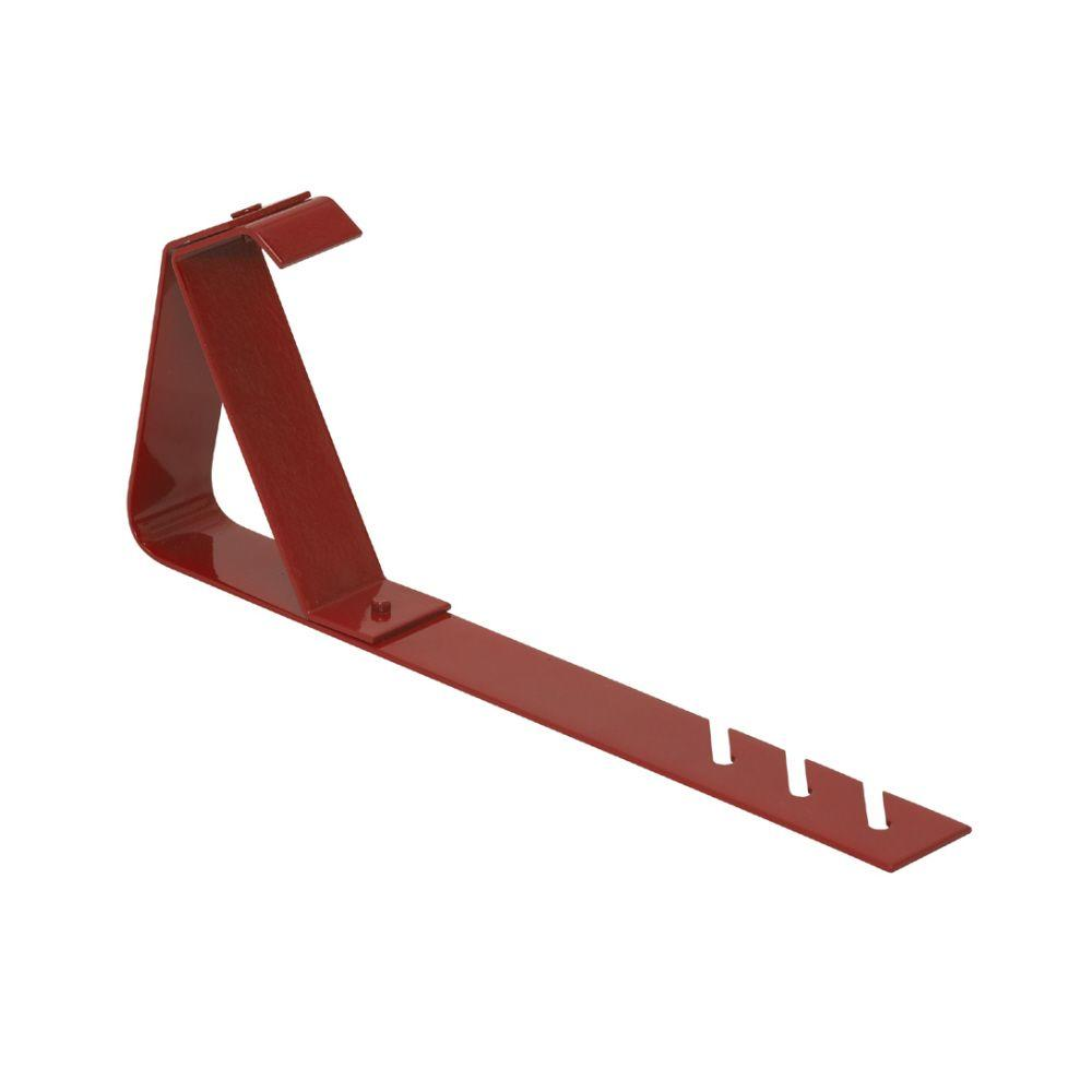 Qualcraft 6 in. x 45 Degree HD Fixed Roof Bracket - Fits 2 ft. x 6 in. Plank