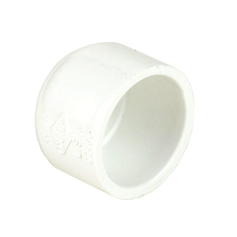 DURA 10 in. Schedule 40 PVC Slip Cap