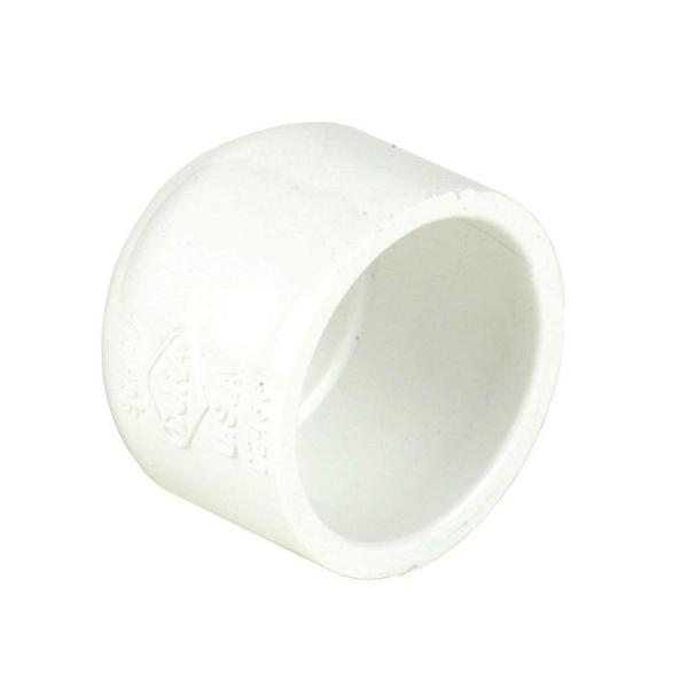 10 in. Schedule 40 PVC Slip Cap