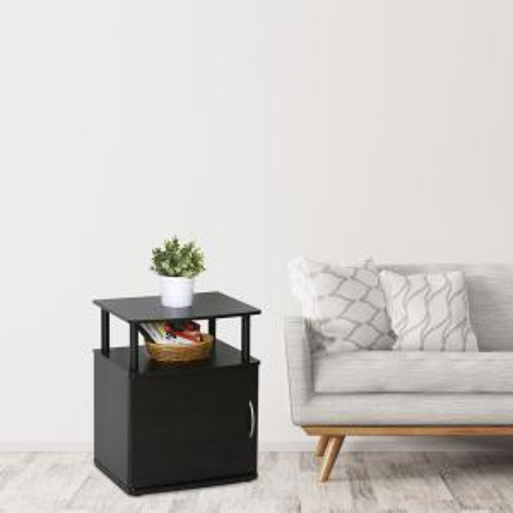 Furinno JAYA Utility Design Blackwood End Table by Furinno