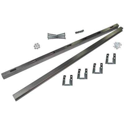 25 in. Universal Undermount Sink Installation Kit
