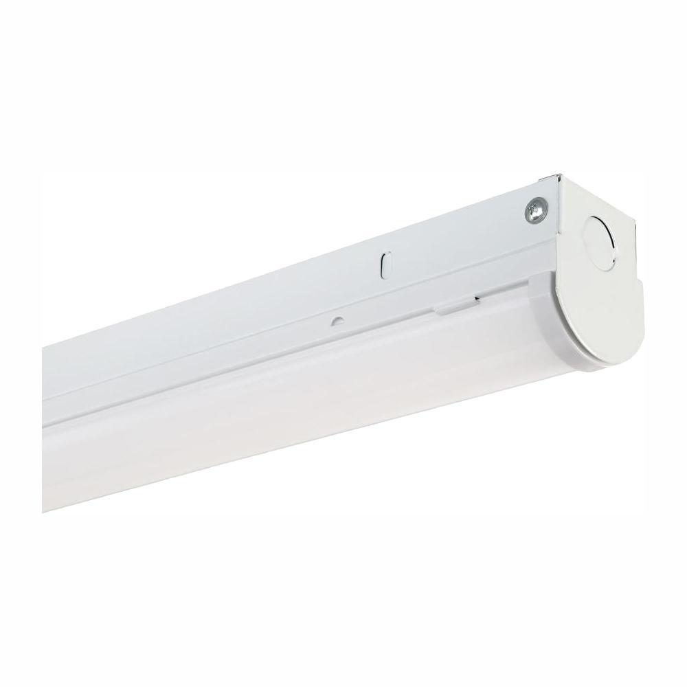 EnviroLite 4 ft. White Integrated LED MV 4,000 Lumen Linear Strip Light, 3500K, 300-Watt Equivalent was $64.17 now $15.42 (76.0% off)