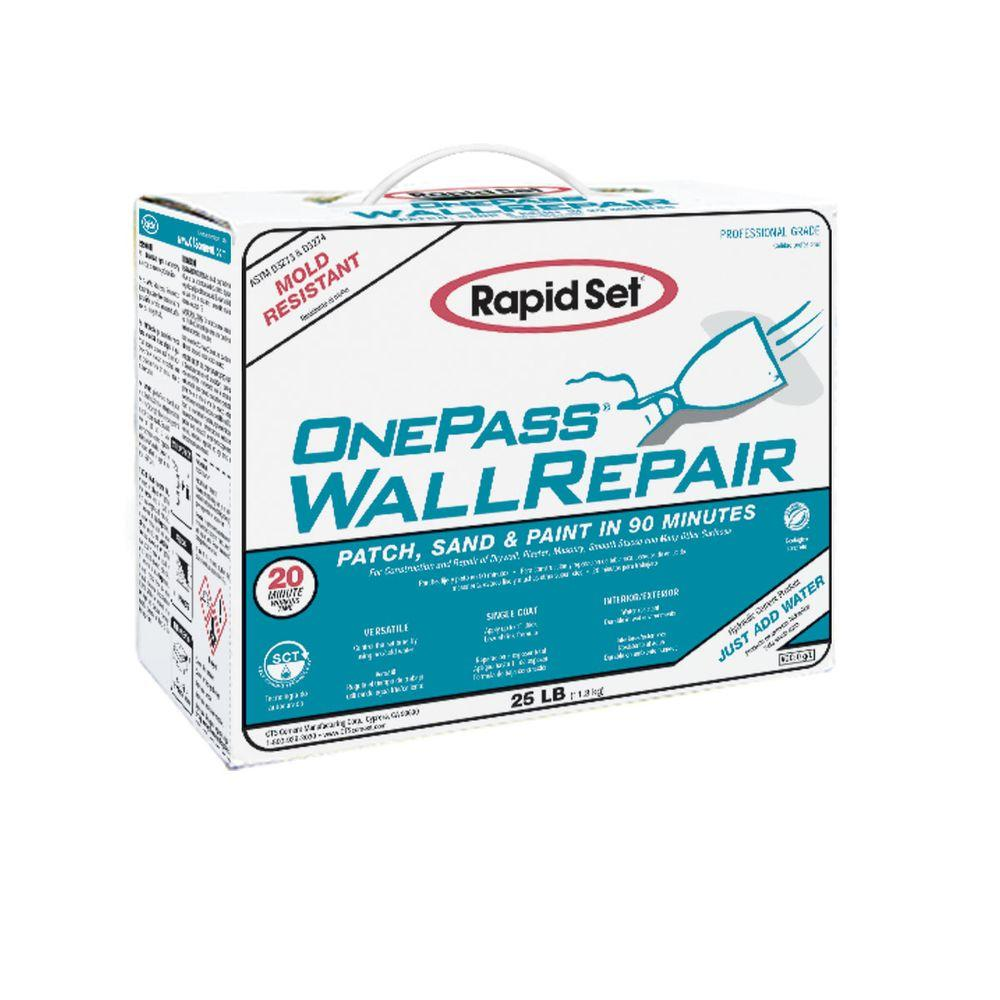 25 lbs. Box OnePass Wall Repair Material and Joint Compound