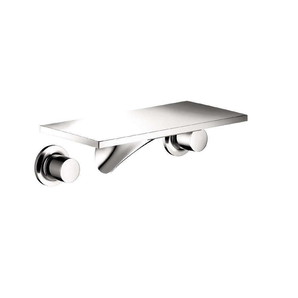 Hansgrohe Wall Mount Chrome Faucet Chrome Wall Mount