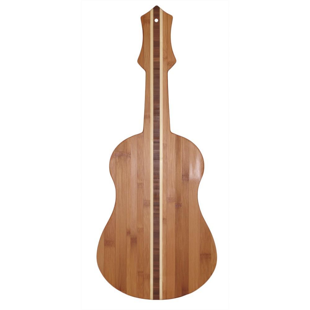 Totally Bamboo Ukelele Shape 1-Piece Cutting Board
